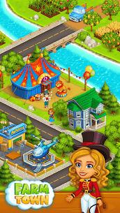 Farm Town  Happy farming Day  food farm game City Apk Download 2021 4