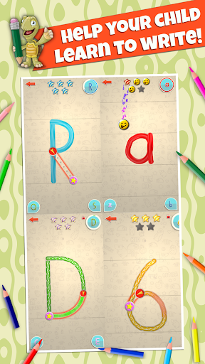 LetraKid: Writing ABC for Kids Tracing Letters&123 Apkfinish screenshots 8