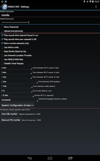 WiGLE WiFi Wardriving apktram screenshots 20