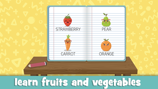 Learn fruits and vegetables - games for kids 1.5.4 screenshots 17