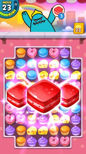 Sweet Monsteru2122 Friends Match 3 Puzzle | Swap Candy 1.3.2 screenshots 9