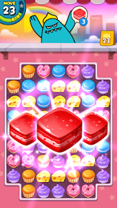 Sweet Monster™ Friends Match 3 Puzzle | Swap Candy 9