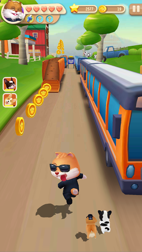 Talking Pet Gold Run - On The Run  screenshots 1