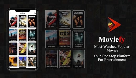 Moviefy - Watch Online New Movies in HD For Free 1.0.2