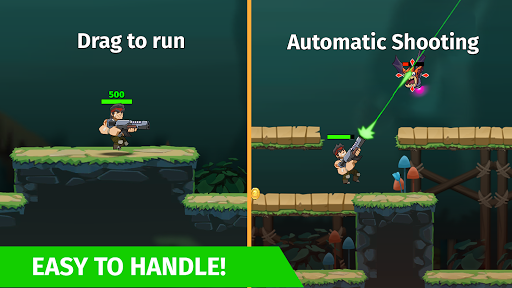 Auto Hero: Auto-fire platformer screenshots 1