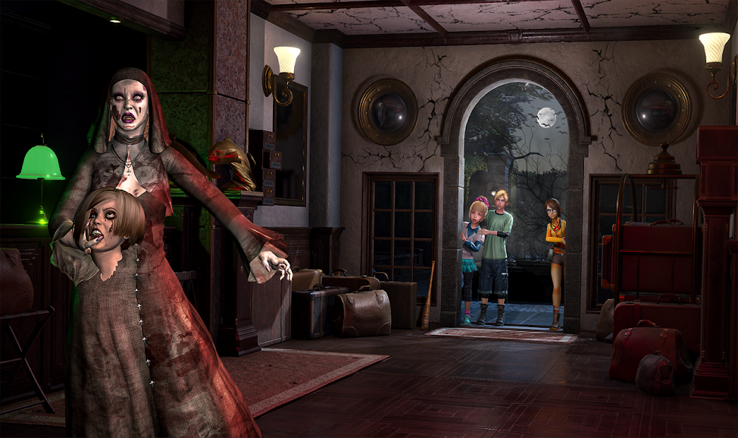 Scary Granny Teacher : Horror Grandma House Escape screenshot 2