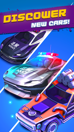 Merge Cyber Cars: Sci-fi Punk Future Merger 2.0.1 screenshots 5