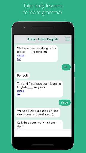 Andy - English Speaking Bot 2.8.2 Screenshots 2