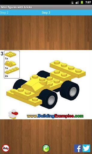 Mini figures with bricks  screenshots 3