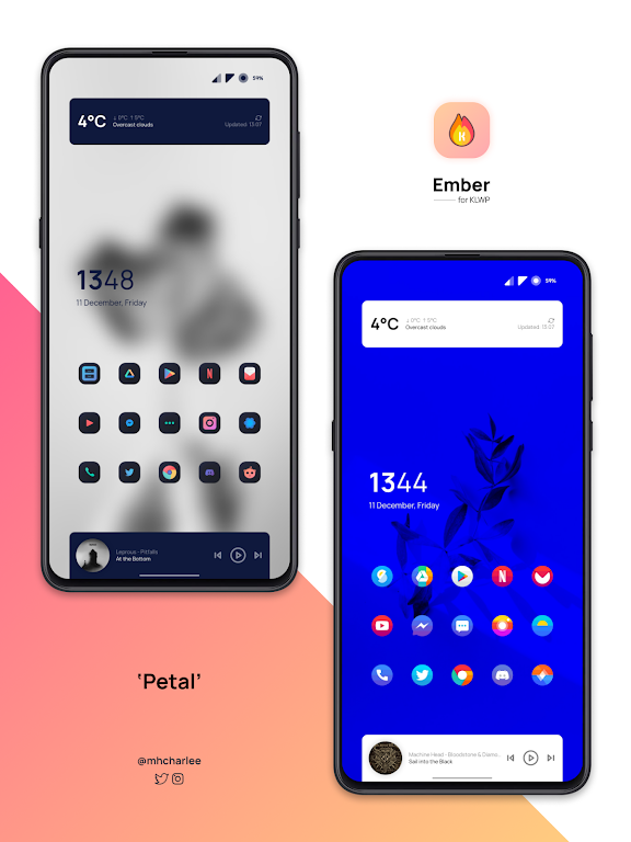 Ember for KLWP  poster 0