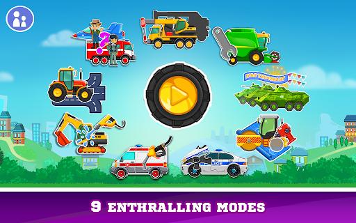 Download Kids Cars Games! Build a car and truck wash! 2.1.12 screenshots 1