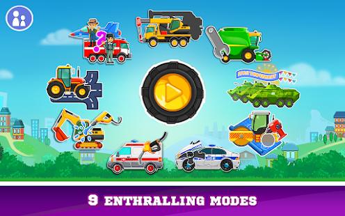 Kids Cars Games! Build a car and truck wash! 3.0.22 screenshots 1