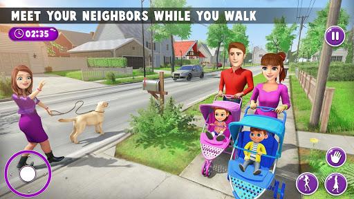 Virtual Mother New Baby Twins Family Simulator  screenshots 5