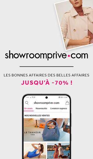 Showroomprivé - Ventes privées de grandes marques. 13.8.0 screenshots 1