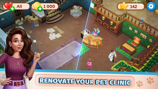 Pet Clinic - Free Puzzle Game With Cute Pets 1.0.2.70 screenshots 1