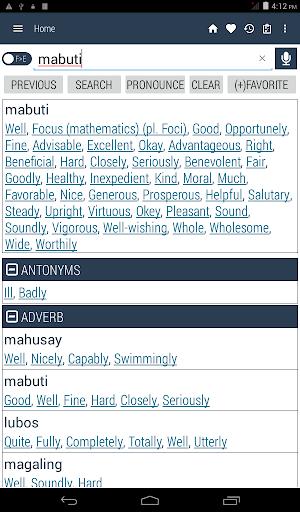 English Filipino Dictionary inn Screenshots 10