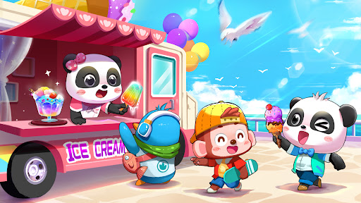 Baby Panda's Kids Puzzles Apkfinish screenshots 7