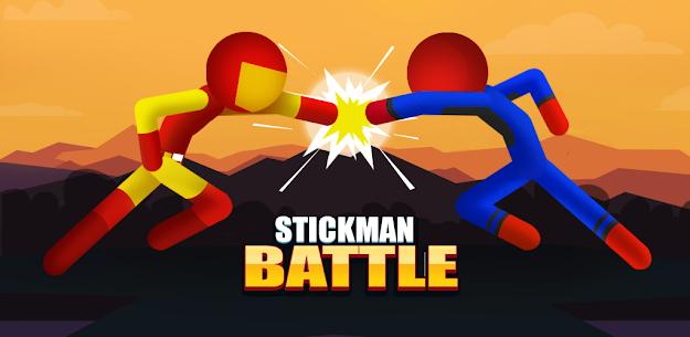 Stickman Battle game free Mod Apk: Fighting Stickman (Unlock All Heroes) 4