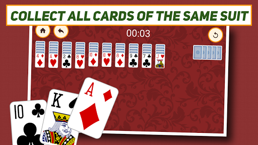 Spider Solitaire: Classic screenshot 3