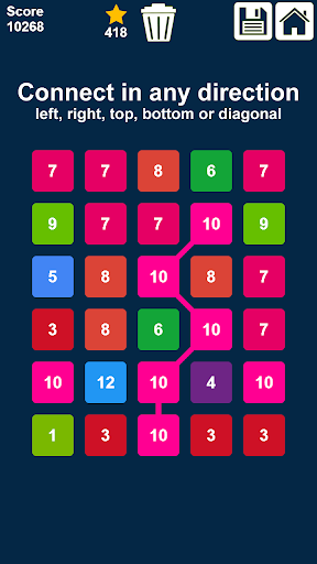 Télécharger Connect n Clear Numbers: Match 3 Numbers Game mod apk screenshots 2