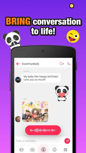 JusTalk Kids - Safe Video Chat and Messenger  Screenshots 3