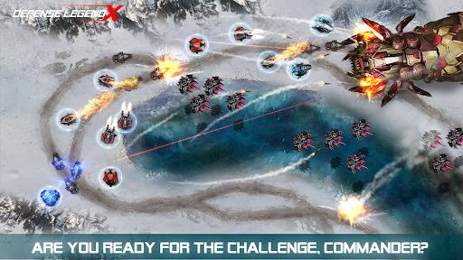 Defense Legend X: Sci-Fi Tower defense 1.0.22 screenshots 3