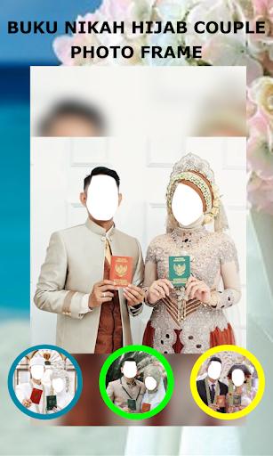 Book Wedding Hijab Couple Photo Frame 1.3 Screenshots 5