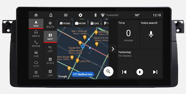 Car Penguin: Head Unit Launcher & Navigation 1.8 Screenshots 2