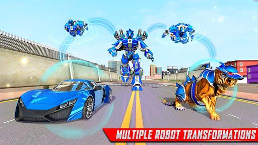 US Police Tiger Robot Game: Police Plane Transport 1.1.9 screenshots 11