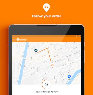 Pyszne.pl u2013 order food online 7.10.3 Screenshots 10