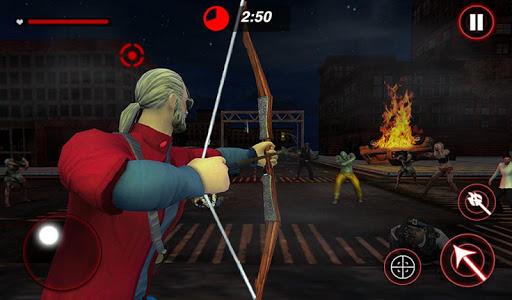 Archer Hunting Zombie City Last Battle 3D modavailable screenshots 11