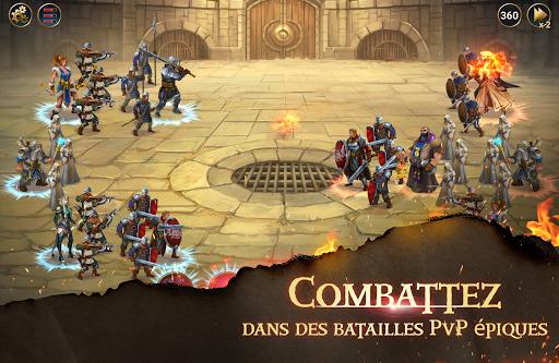 Code Triche Chaos Lord Stronghold Kingdom Guerre RPG médiévale APK MOD (Astuce) screenshots 1