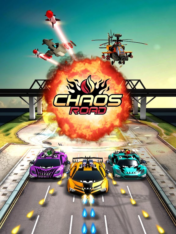 Chaos Road: Combat Racing poster 19