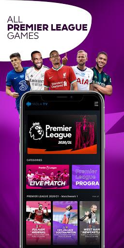 MOLA - Broadcaster Resmi Liga Inggris 2019-2022 android2mod screenshots 1