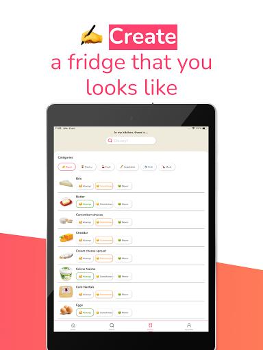 Magic Fridge: Easy French recipe and no more waste apktram screenshots 18