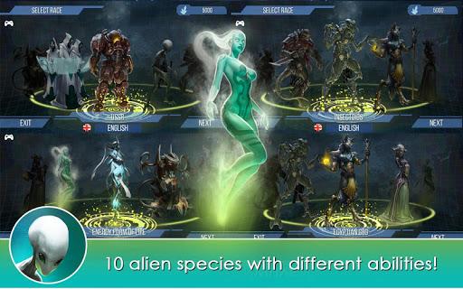 X-CORE. Galactic Plague. Offline Strategy game. 1.26 Screenshots 11