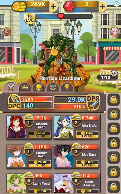 Monster Clash Clicker