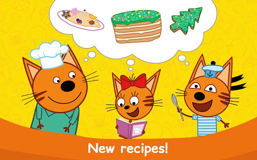 Kid-E-Cats: Cooking for Kids with Three Kittens!  screenshots 9