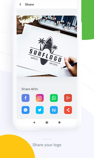 Logo Maker : Graphic Design And Logo Templates android2mod screenshots 6