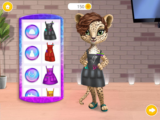 Amy's Animal Hair Salon - Cat Fashion & Hairstyles android2mod screenshots 11