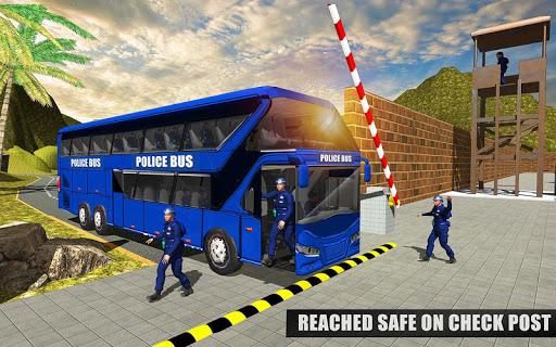 US Police Bus Mountain Driving Simulator  screenshots 2