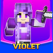 Violet Skin for Minecraft