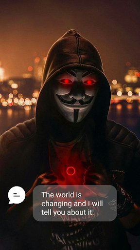 Anonymous Fake Call 26 screenshots 1