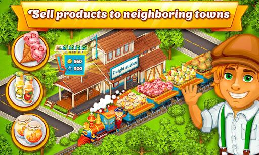cartoon city: farm to village. build your home screenshot 3