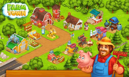 Farm Town: Happy village near small city and town  Screenshots 14