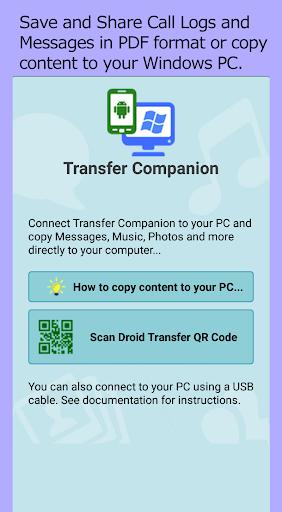 Transfer Companion 3.12.03 Screenshots 1