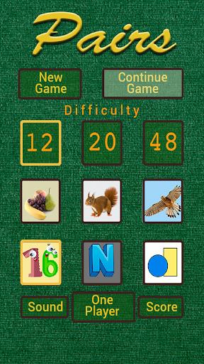 Pairs game 3.21 screenshots 1