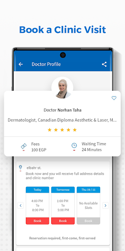 Vezeeta - Doctors & Pharmacy apktram screenshots 2