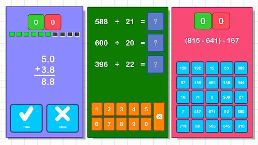 Math Games, Learn Add, Subtract, Multiply & Divide apktram screenshots 5