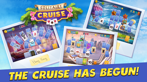 Solitaire Cruise: Classic Tripeaks Cards Games 2.7.0 screenshots 6